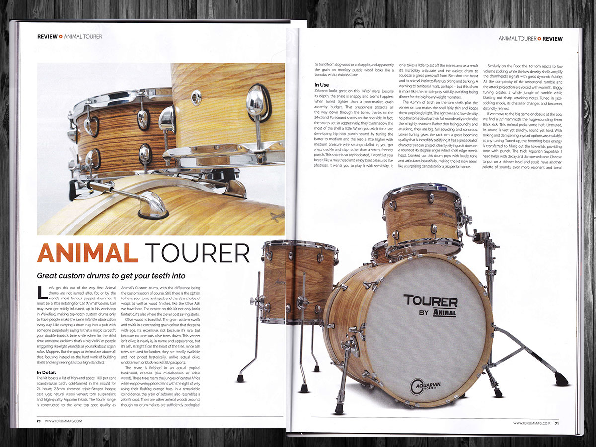 Drummer Review